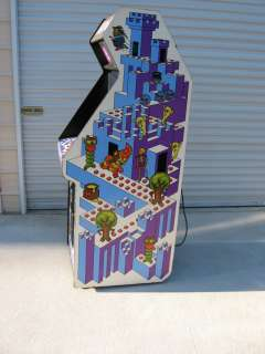 CRYSTAL CASTLES ARCADE GAME DEDICATED WORKING IN GOOD CONDITION