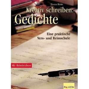praktische Vers  und Reimschule. (9783806827002): Thomas Wieke: Books