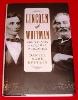 Book Lot President Abraham Lincoln Abe Civil WarJefferson Davis Walt