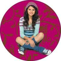 Wizards of Waverly Place Crossing Button B DIS 0573