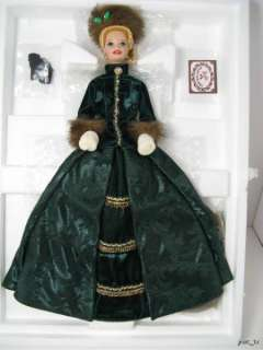 Doll Holiday Caroler Holiday Porcelain Barbie Collection 1996 #4048