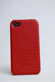 VIVA Apple iPhone 4 (4G) Leather Case (Red/Black/White)