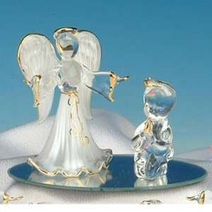 Collectible Praying Child White Guardian Angel Figure