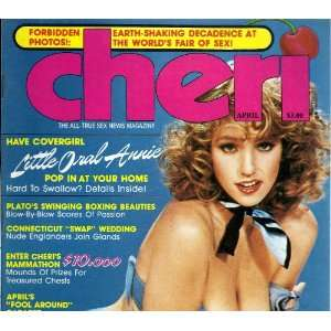 CHERI APRIL 1983 LITTLE ORAL ANNIE: CHERI MAGAZINE: Books