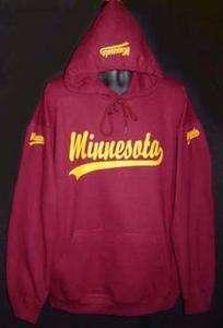 of Minnesota Hooded Hoodie Sweatshirt Maroon Mens Womens 4XL 4X XXXXL