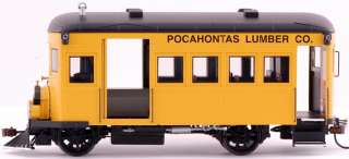 Spectrum On30 Scale Train Rail Bus DCC Equipped Pocahontas Lumber