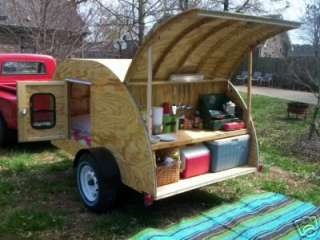 Teardrop Camper costs me about $600 . and weighs about 500 lbs