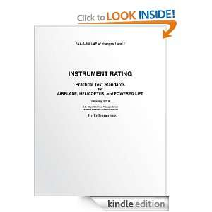 Instrument Rating Practical Test Standards for Airplane, Helicopter