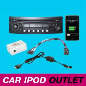 Peugeot 207 308 307 407 607 807 iPod iPhone Interface Adaptor