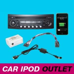 Peugeot 207 308 307 407 607 807 iPod iPhone Interface Adaptor