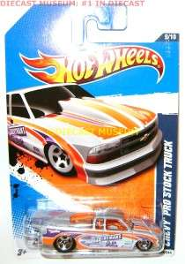 CHEVY PRO STOCK TRUCK HOT WHEELS DIECAST 164 2011