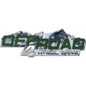 GMC Canyon Chevy Colorado Offroad 4 Wheel Drive 4x4 Vinyl Graphic Kit