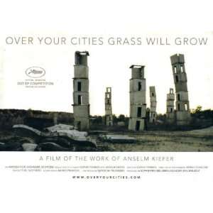 of Anselm Kiefer 2010 Cannes Film Festival Pressbook