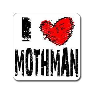 I Love Heart MOTHMAN   Window Bumper Laptop Sticker