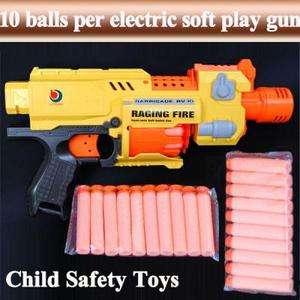 Semi auto Soft Bullet Blaster Nerf Gun 20 Dart Toy AGE 6+ #7004