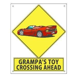 Chevy street sign funny / grandfather grandpa retro mancave wall decor