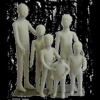 Full Body Child/Children/Kid Bendable Body Form 6Units