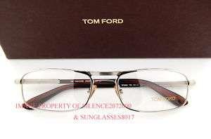 New Tom Ford Eyeglasses Frames 5032 753 PALLADIUM Men
