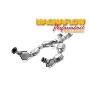 Magnaflow Tru X Stainless Steel Crossover Pipes   96 98 Ford Mustang 4
