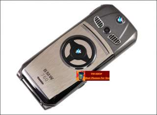 Unlocked Dual SIM Luxury Flip Mobile Phone BMW 760 2GB