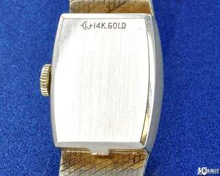 Ladies Rolex Precision 14K Y/G Watch C.1950s Ref 8197