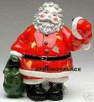 Santa Claus Tea Light Candle Holder Jolly Holiday SALE New in Box