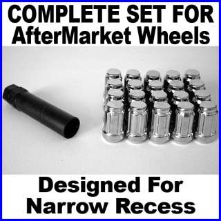 Lexus Rim Wheel Locks Lug Nuts Tuner Spline Set 12x1.5
