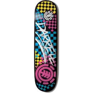 Element Featherlight Skateboard Deck (Darrell Speedway, 8 Inch