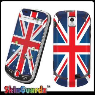 Union Jack Flag Vinyl Case Decal Skin To Cover Your Samsung Intercept