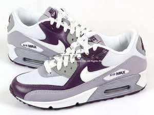 Nike Wmns Air Max 90 White/White Provence Purple Womens Running 325213