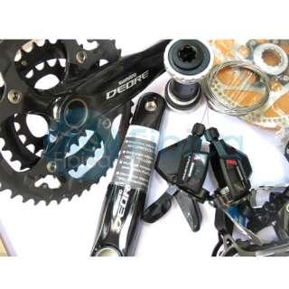 New Shimano Deore Hydraulic Brake M595 Group set 11pcs