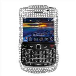 Pink Leopard Bling Case Cover For Blackberry Bold 9700