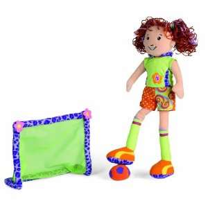 Manhattan Toy Groovy Girl Fun Packs Sarina Soccer Toys & Games