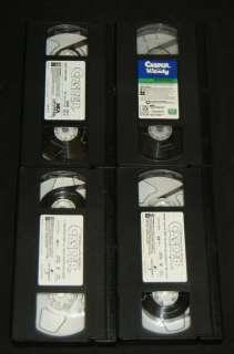 CASPER 4 VHS Casper, Casper Meets Wendy, & Casper Spooktacular New
