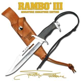Rambo III Combat Knife Signature Authentic Great Chirstmas Gift