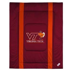 Virginia Tech University Hokies Comforter Full Queen