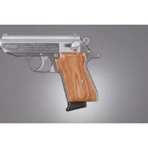 Hogue Walther PPK/S and PP Tulipwood Checkered 04711