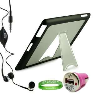 iPad 2 Earbuds Earphones with Microphone + Live * Laugh * Love