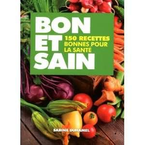 recees bonnes pour la sané (9782817600567) Sabine Duhamel Books