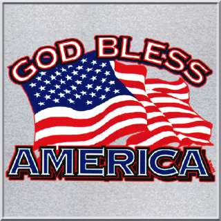 God Bless America Flag Patriotic Shirt S XL,2X,3X,4X,5X