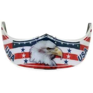 Bill Grill Curved   Classic   American Flag Eagle Head