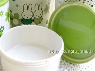 Miffy 2tier Thermal Lunch Box Bento +Chopstick +Bag  GN
