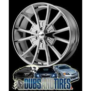 20 Inch 20x8.5 American Racing wheels wheels EL REY Chrome
