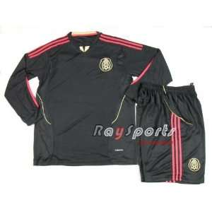 new black mexico 11 12 away long sleeve shirts 2011 2012