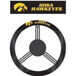 University of Iowa Hawkeyes Steering Wheel Cover