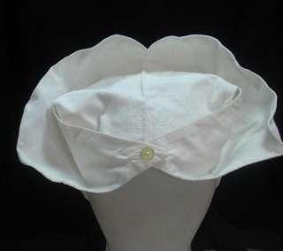 ANTIQUE MEDICAL FEMALE NURSE HEAD CLOTH