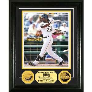 Pittsburgh Pirates Andrew McCutchen 24KT Gold Coin Photo