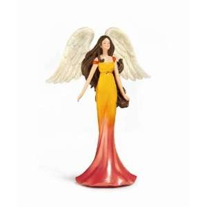 Healing Angel Figurine   Gemstone Healing Powers, Amber, Protection