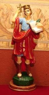 Saint Vitus San Vito Statue Estatua Santo Sicily
