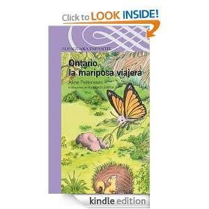 Ontario, la mariposa viajera (Serie Morada) (Spanish Edition